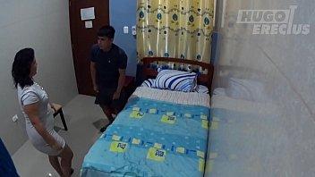 Мед работница организовала лечебное порево с молодым пациентом